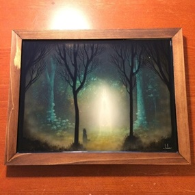 Roamer Of The Subterranean Forest (Resin) by Andy Kehoe