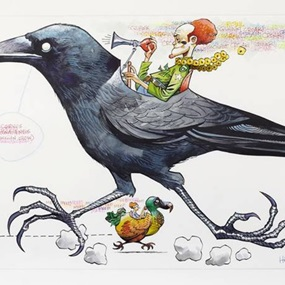 Hawaiian Crow by Jamie Hewlett