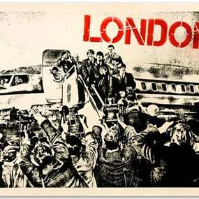 A Good Days Flight by Mr Brainwash