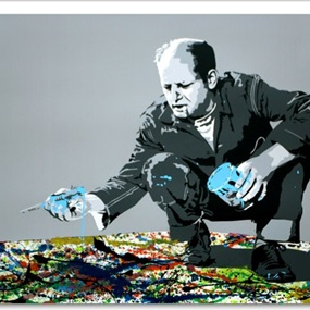 Jackson Pollock by Mr Brainwash