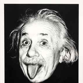 Happy Birthday Einstein! by Mr Brainwash