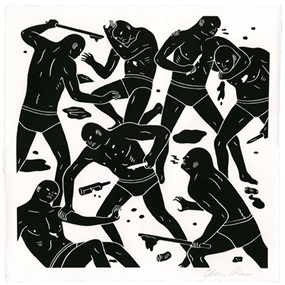 The Brinksman II by Cleon Peterson