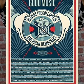 Good Music (First Edition) by Shepard Fairey