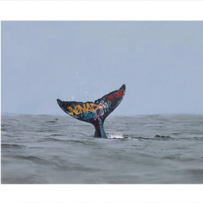 Descent by Josh Keyes