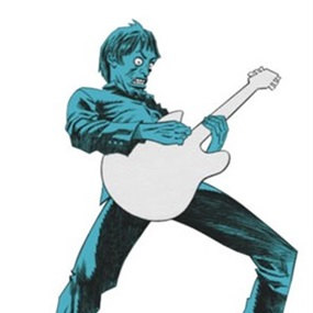 Paul Weller by Jamie Hewlett