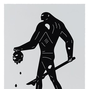 Headless Man (Black & White) by Cleon Peterson