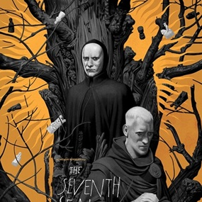 The Seventh Seal (Gold Variant) by João Ruas
