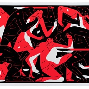 Poison In The Mind (Red) by Cleon Peterson