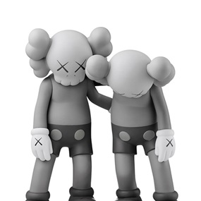 Along The Way (Grey) by Kaws