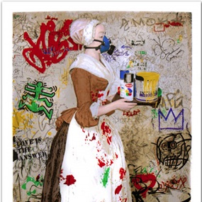 The Chocolate Vandal by Mr Brainwash
