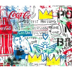 No Posts, No Bills (24 x 36 Paper) by Mr Brainwash