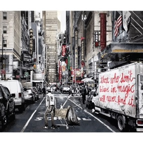 Broadway by Mr Brainwash