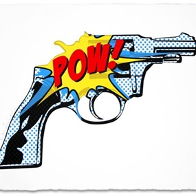 Pow! Pow! by Mr Brainwash
