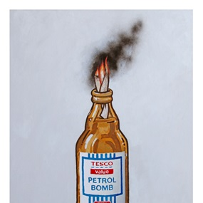 Tesco Value Petrol Bomb (First Edition) by Banksy