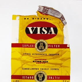 Fag Packets (Visa) by Peter Blake