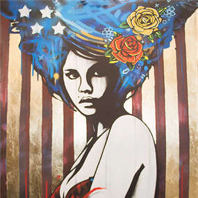American Princess IV (Stars & Stripes) (Gold Leaf) by Copyright