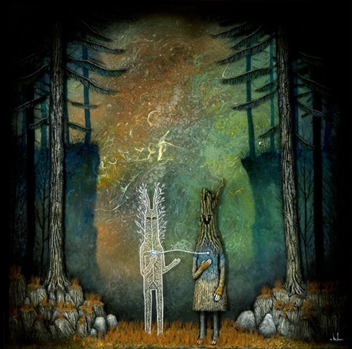 Invoking The Heart Of The Forest  by Andy Kehoe