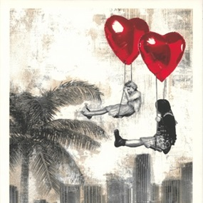 Love Is In The Air - Miami by Mr Brainwash