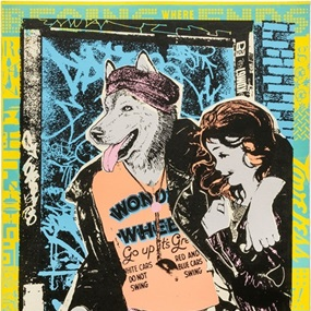 Wonder Wheel 250 (First Edition) by Faile
