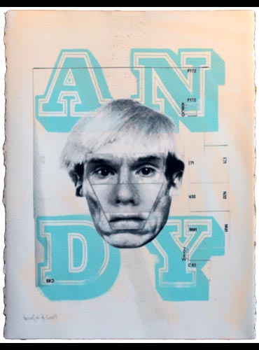 Dirty Warhol (Andy) by Eine