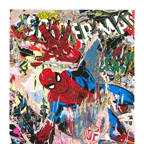 Spider-Man by Mr Brainwash