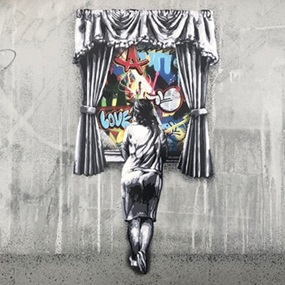 Figure At The Window (Reverse) by Martin Whatson