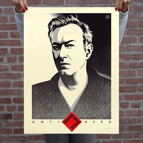 Andy Gill Anti-Hero US by Shepard Fairey