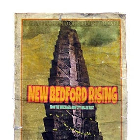 New Bedford Rising - Replica Prophecy Poster by James Cauty