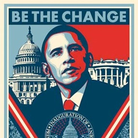 Inauguration Print (Signed) by Shepard Fairey