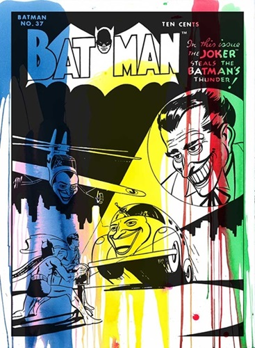 The Joker - Comic Book Cover #1  by Mr Brainwash