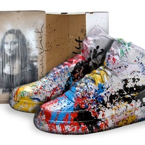 Just Did It by Mr Brainwash