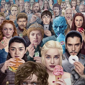 Obsession by Alex Gross