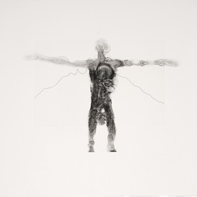 Extent, 2008 by Antony Gormley