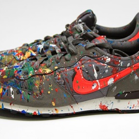 MBW Shoe (Grey) by Mr Brainwash