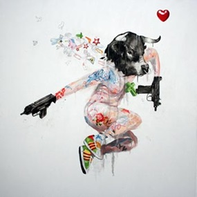 Uzi Lover 1 by Antony Micallef
