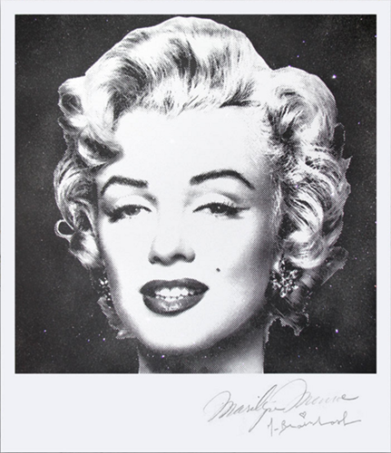Diamond Girl (Polaroid) by Mr Brainwash