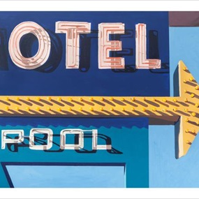Motel Pool by Jessica Brilli