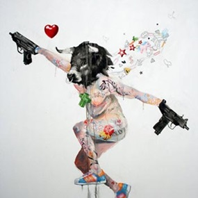Uzi Lover 2 by Antony Micallef