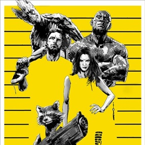 Guardians Of The Galaxy by Jock