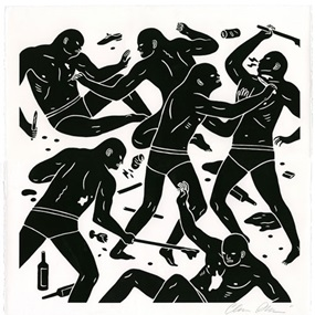 The Brinksman I by Cleon Peterson