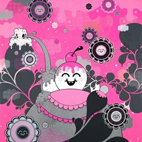 Hot Pink Explosion by Buffmonster