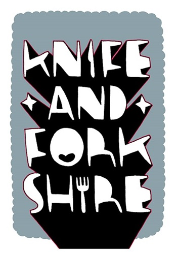 Knife Forkshire First Edition By Kid Acne Editioned Artwork Art Collectorz
