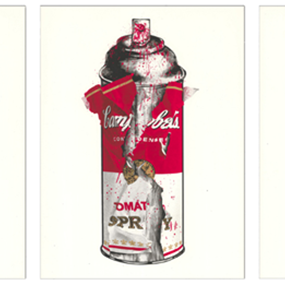 Torn Spray Can by Mr Brainwash