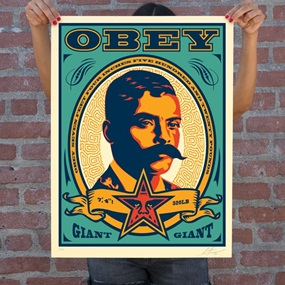 Zapata (2020 Teal) by Shepard Fairey