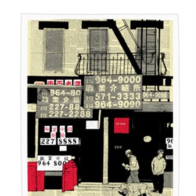 Chinatown Numbers (First Edition) by Evan Hecox