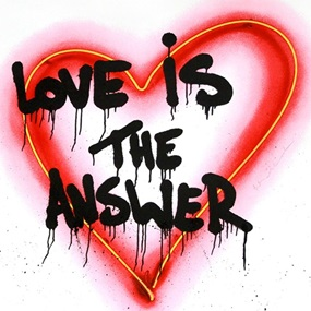 Speak From The Heart - Love Is The Answer by Mr Brainwash