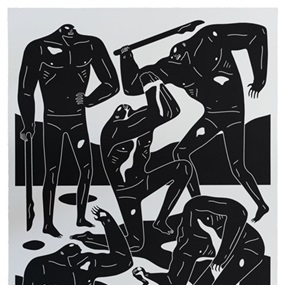 Mercenaries (White) by Cleon Peterson
