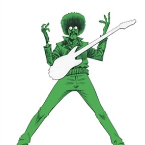 Phil Lynott by Jamie Hewlett