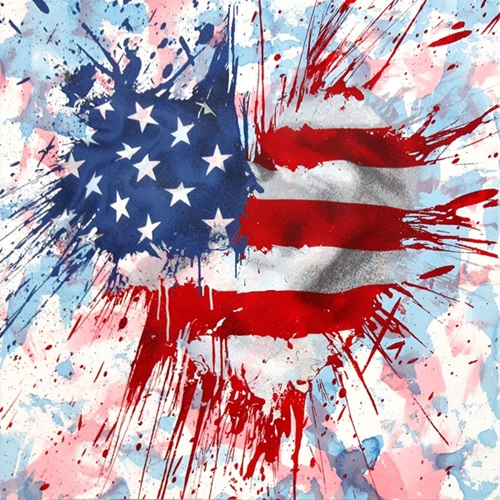 Moment Of Silence (Variant Series) by Mr Brainwash