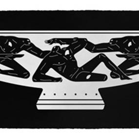 End Of Empire, Kylix (Black) by Cleon Peterson